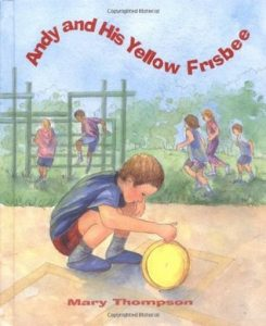 Book Cover Andy and His Yellow Frisbee