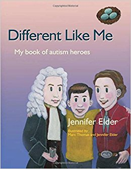 Book Cover Different Like Me: My Book of Autism Heroes