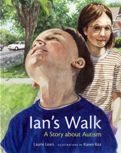 Book Cover Ian's Walk, a Story about Autism