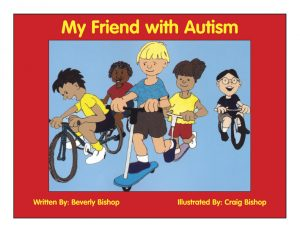 Book Cover My Friend with Autism