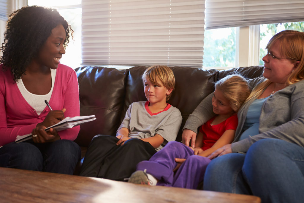 Graduates with an autism master's can be social workers
